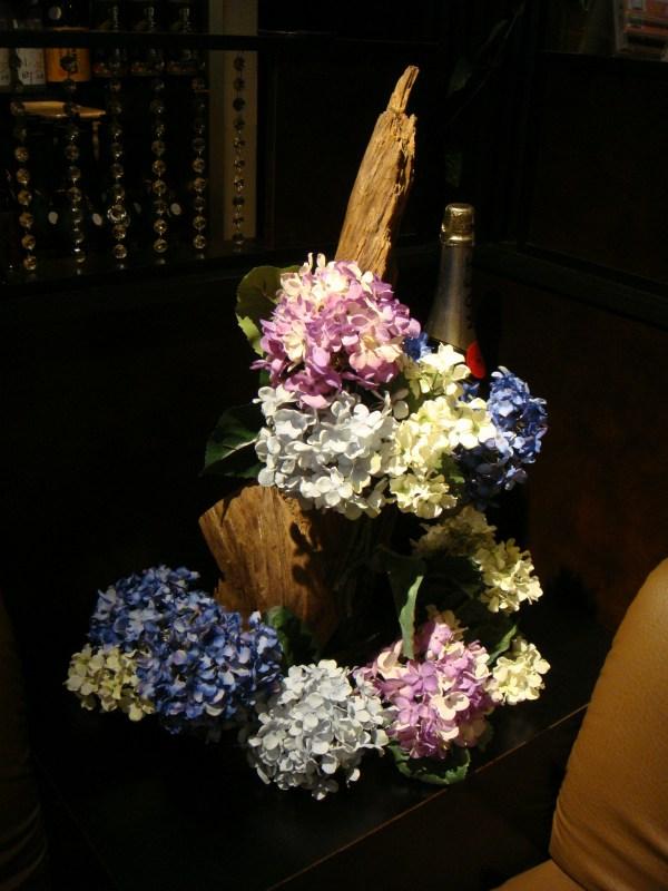 藤・紫陽花