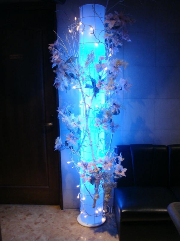 冬の装飾、クリスマス装飾ディスプレイ