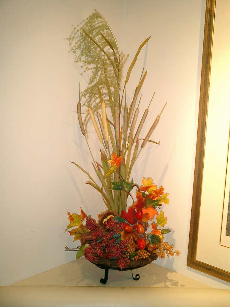 秋の装飾、メープル装飾ディスプレイ