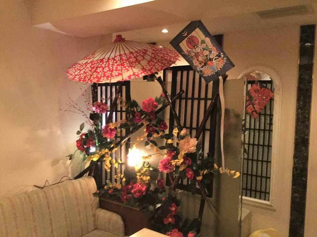 正月・椿装飾ディスプレイ